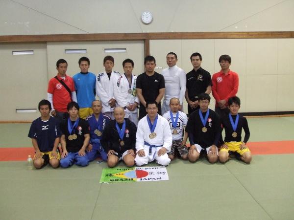 第1回 中国ノーギ柔術オープン