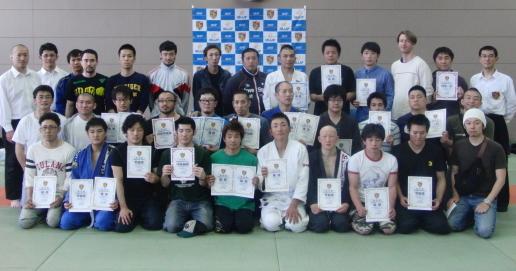 第1回  北海道ノーギ柔術選手権