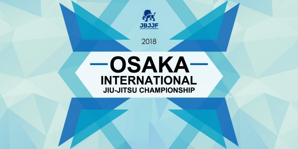 OSAKA INTERNATIONAL JIU-JITSU CHAMPIONSHIP 2018 March 3rd Osaka City Shudokan(OSAKA)